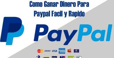 ganar dinero con paypal