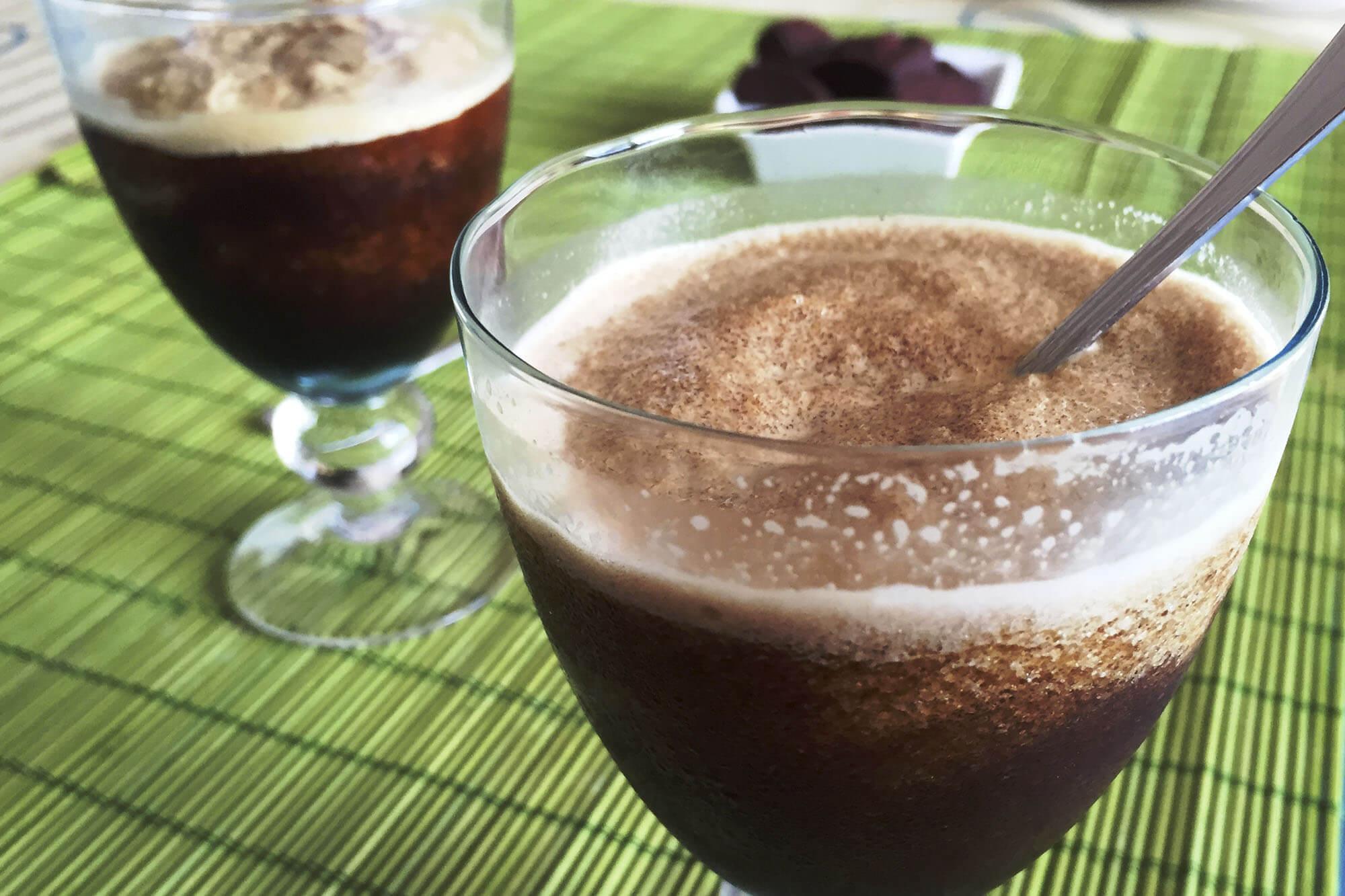 granizado de café en casa