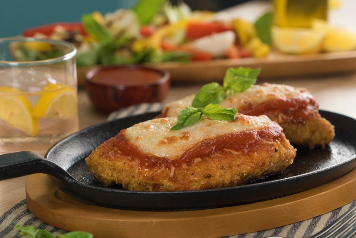 ingredientes de pollo a la parmesana