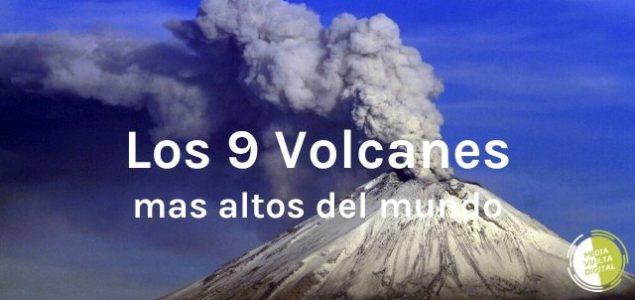 Imagen de ¿Dónde se encuentran los volcanes más altos del mundo? 16