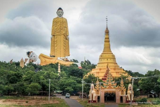 8.- El Laykyun Setkyar, Khatakan Taung, Myanmar
