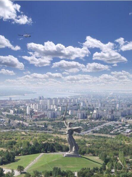 El Mamayev Monumento, Volgogrado, Rusia
