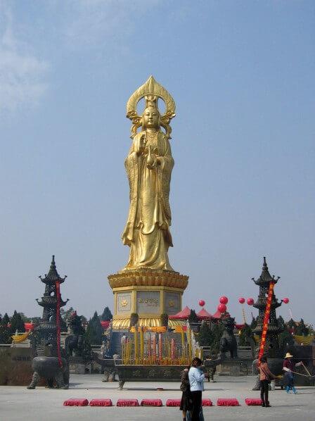 Guanyin de Lianhuashan