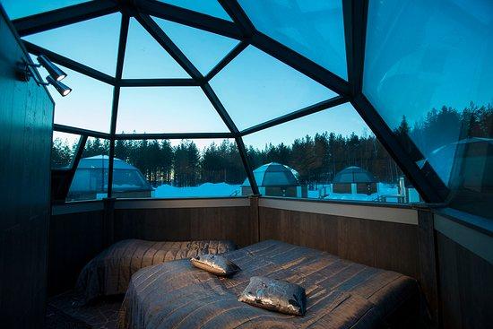 Imagen de Hoteles bajo el espectáculo de la aurora boreal 17
