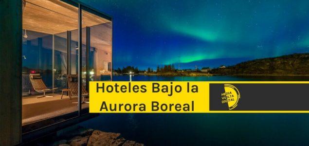 Imagen de Hoteles bajo el espectáculo de la aurora boreal 7