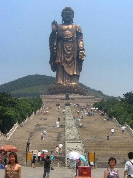 Primavera Templo del Buda, Zhaocun, China