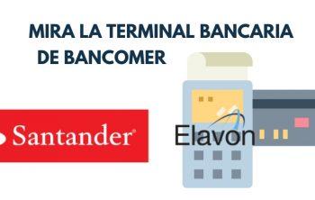 Imagen de Terminal Bancaria o TPV Santander 25