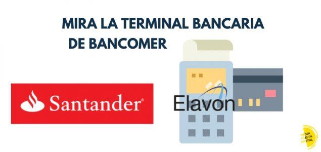 Imagen de Terminal Bancaria o TPV Santander 12