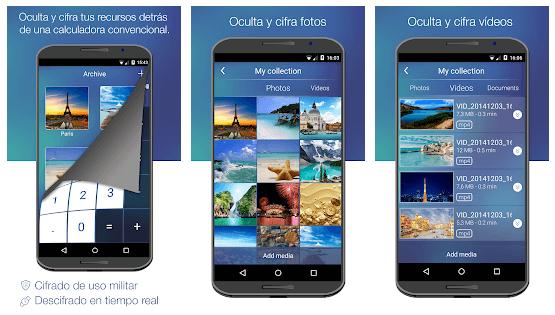 Imagen de 5 Aplicaciones para Ocultar Fotos y Archivos en Android e iOS 7