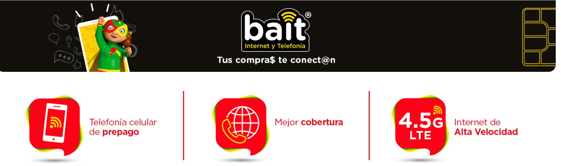 Imagen de Todo Sobre BAIT - Recargas, Chips y Planes de la nueva telefonía de Bodega Aurrera 10