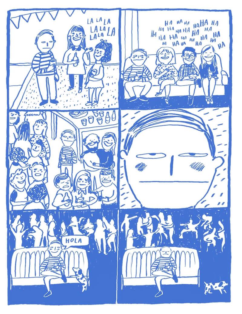 Imagen de Diario de un solo, el cómic para chavos deprimidos 13
