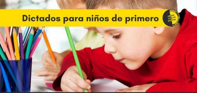 Imagen de Dictados para niños de primero 10