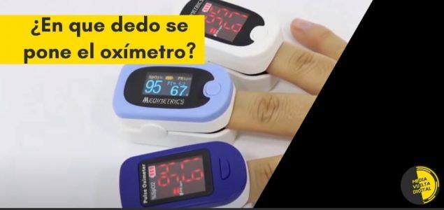 Imagen de ¿En que dedo se pone el Oxímetro? 10