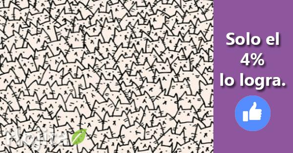Imagen de Reto visual: Encuentra al perro entre los gatos 16