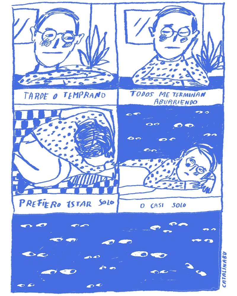 Imagen de Diario de un solo, el cómic para chavos deprimidos 23
