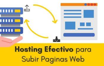 Imagen de Hosting Efectivo para Subir Paginas Web a Internet 24