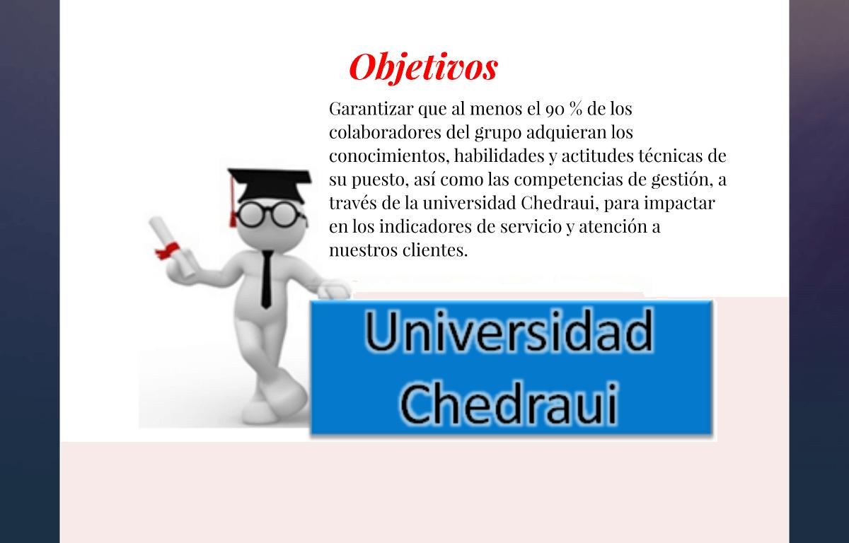 Imagen de Universidad Chedraui ¿Qué es la Universidad Corporativa? 12