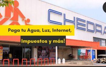 Imagen de Paga tus Servicios en Chedraui, Agua, Luz, Internet, Impuestos y mucho mas 24