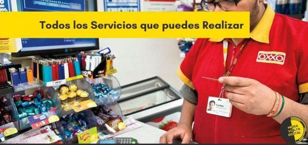 todos los servicios oxxo