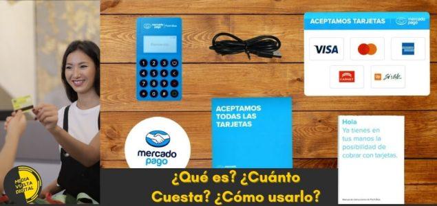 terminal mercado pago point blue lector de tarjetas